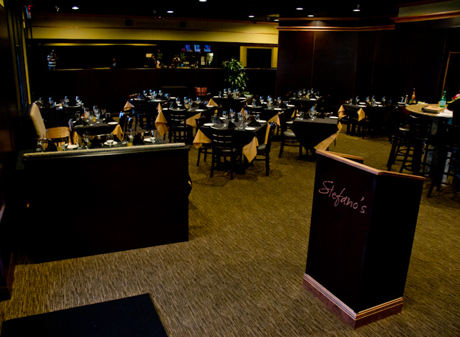 Stefano's Grill Dining Room